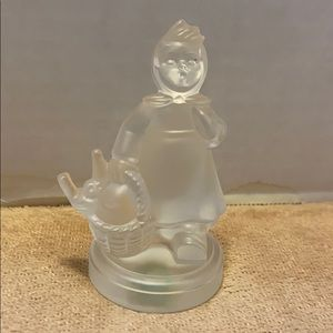 "Hummel Goebel crystal ""Girl Home from Market"""